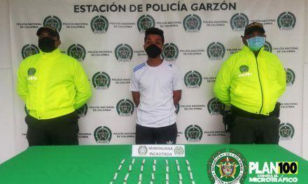 INTERVIENEN SITIO DE EXPENDIO DE ESTUPEFACIENTES EN EL AGRADO