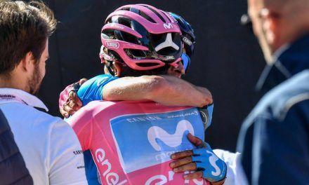 La UCI prohíbe los abrazos