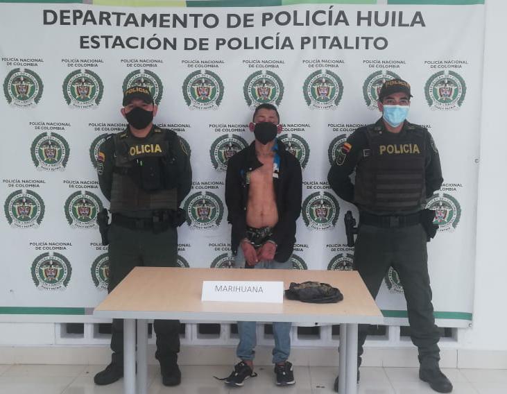 Capturado delincuente dedicado al hurto de viviendas y locales comerciales en Pitalito