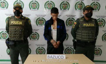 Por pretender comercializar estupefacientes, dos personas fueron capturadas en Pitalito