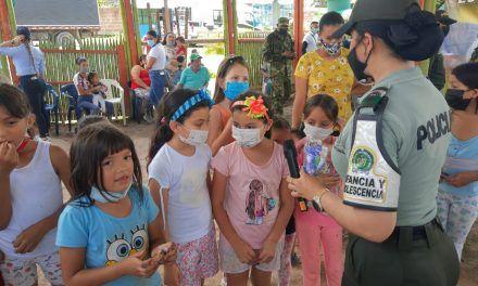 Autoridades en La Plata realizan campañas de prevención en contra de la criminalidad