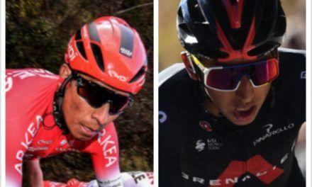 Nairo, Egan e Higuita en el top 20 de la Tirreno-Adriático