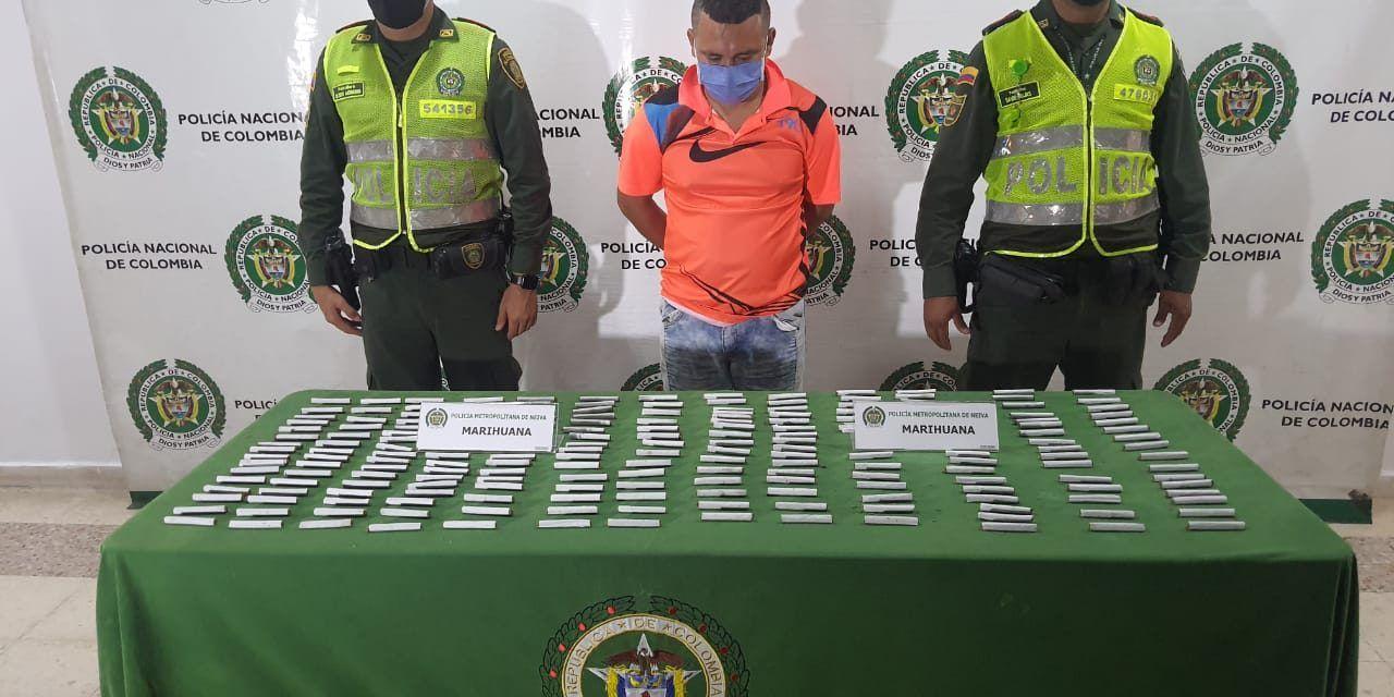 Detenido por portar 200 cigarrillos de marihuana