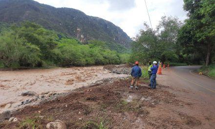 Afectaciones en la vía Pitalito – Garzón por fuertes lluvias