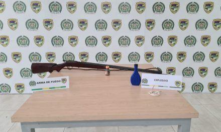 Hallan arma de fuego artesanal en Aipe