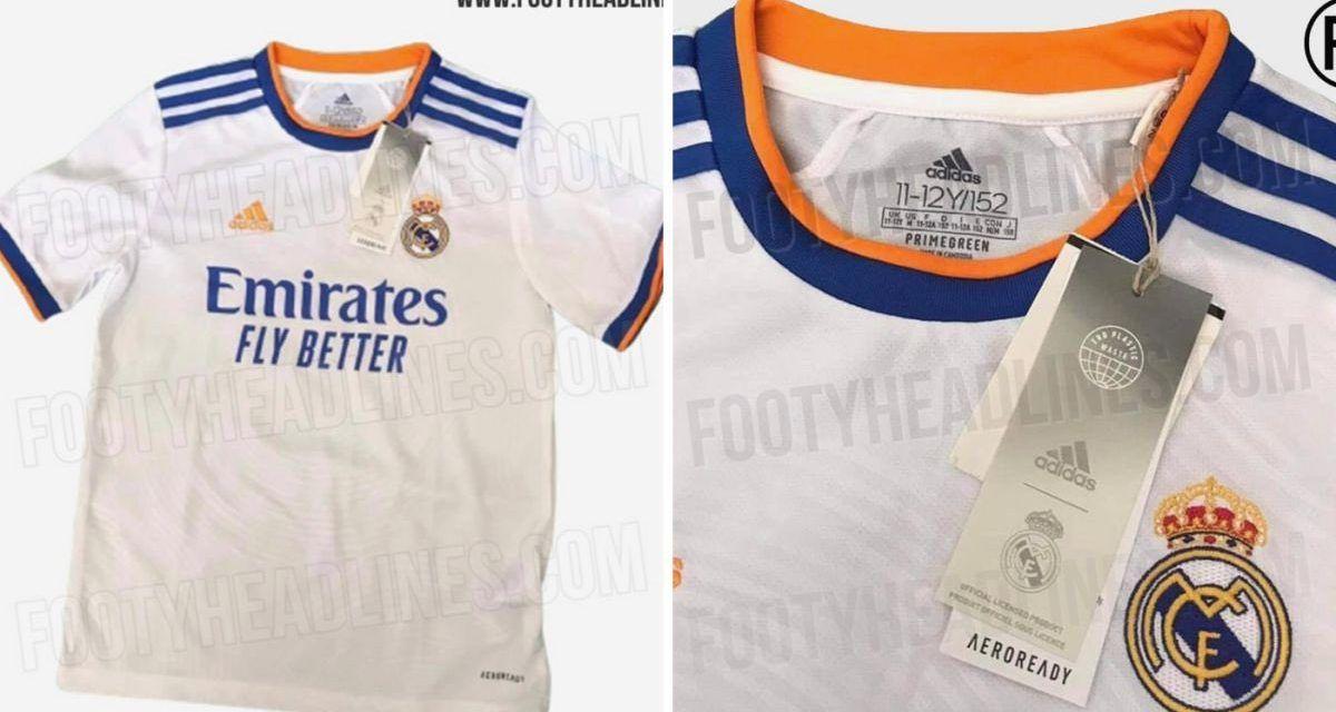 Se filtra nueva camiseta del Real Madrid