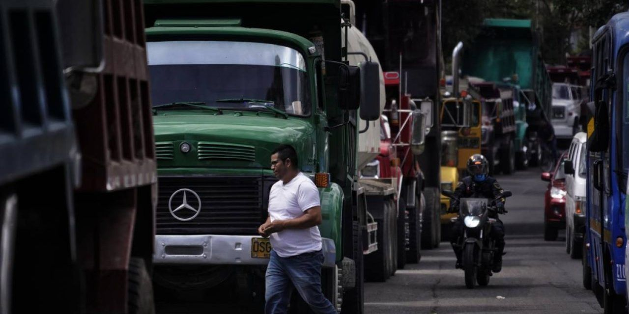 Aumentó el volumen de carga transportada en Colombia