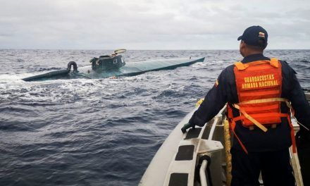 Incautaron semisumergible con 400 kilos de cocaína de las disidencias de las Farc