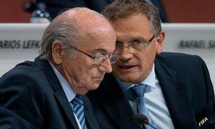 Blatter y Valcke suspendidos seis años por la FIFA