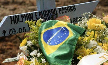 Brasil bate récord de más de 3.000 muertos por covid-19 en un día