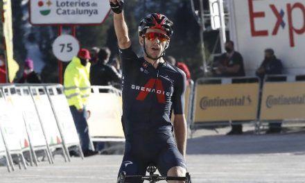 INEOS hizo el uno, dos y tres en la Volta a Catalunya
