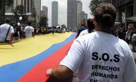 Colombia mal parada en informe de derechos humanos