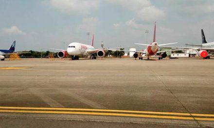 En 2020, en Colombia el tráfico aéreo internacional se redujo 78,6%