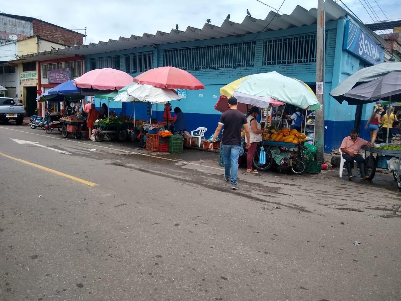 Venden los productos de plaza, pero también se puede conseguir toda clase de pescado