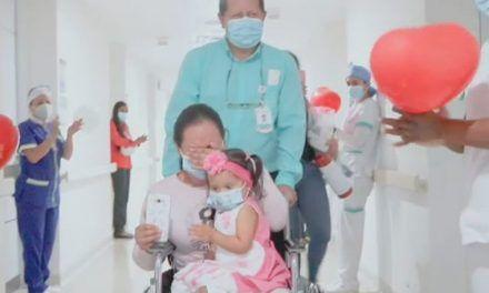Bebé sin esperanzas de vida venció una cardiopatía con exitoso trasplante de corazón