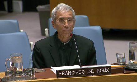 Ver a jóvenes como máquinas de guerra no puede ser el camino: Padre de Roux