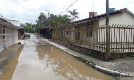 En Bellavista las aguas residuales se están metiendo en las casas
