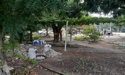 'La Cucaracha', parque en remodelación quedó a medias