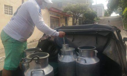 Jarrero de leche, oficio de 'alto riesgo'