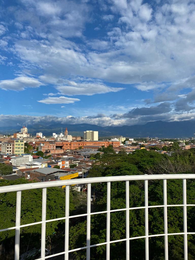 El mirador también permite observar la arquitectura de la ciudad.