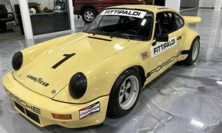 Venden Porsche de Pablo Escobar