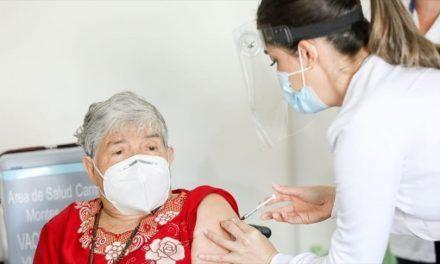 Ejecutado el 100% de la primera dosis anti Covid en adultos mayores en el Huila