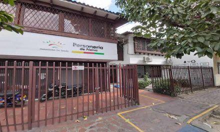 Por falta de garantías, personerías del Huila suspendieron servicio presencial