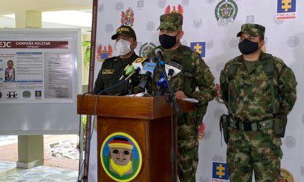 Muerto tras operaciones militares segundo cabecilla de la RAER Dagoberto Ramos
