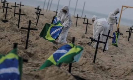 Marzo, el peor mes de pandemia en Brasil