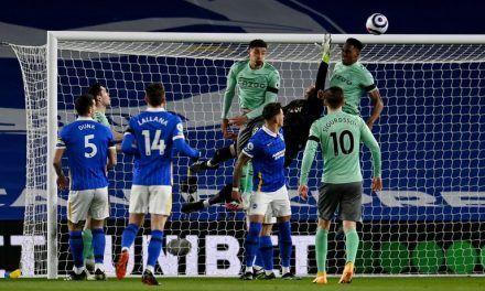 Everton igualó ante el Brighton