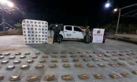 Un cargamento de marihuana avaluado en $520 millones fue incautado en el Huila
