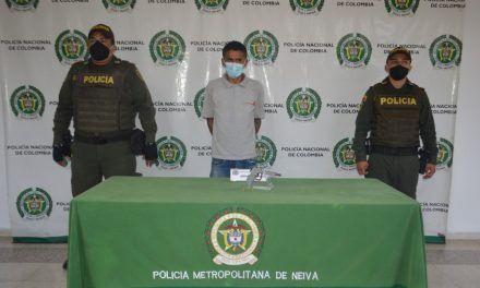 Hombre fue capturado con un arma de fuego ilegal