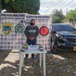 Detenido con 5 kilos de base de coca en la vía Florencia – Suaza