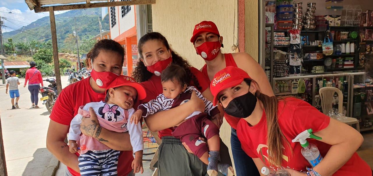Actualmente el grupo todos unidos están trabajando arduamente en su próxima campaña a desarrollar la cual es ayudarles a construir o remodelar una casa para abuelos en una vereda del municipio de Campoalegre.