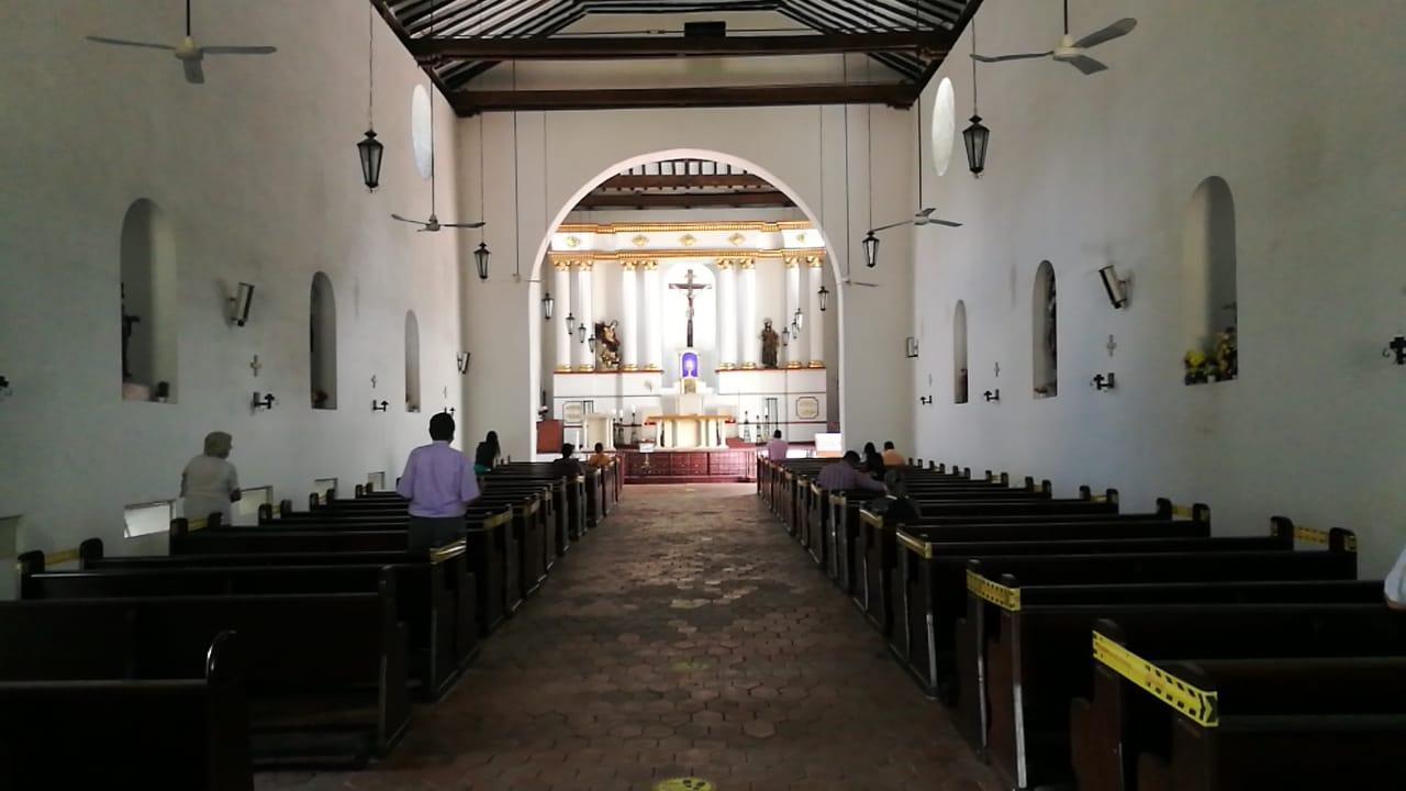 Víctor Ordoñez, vicario de la Diócesis de Neiva, manifestó que, en algunas parroquias, se ha visto gran afluencia de personas de manera virtual.
