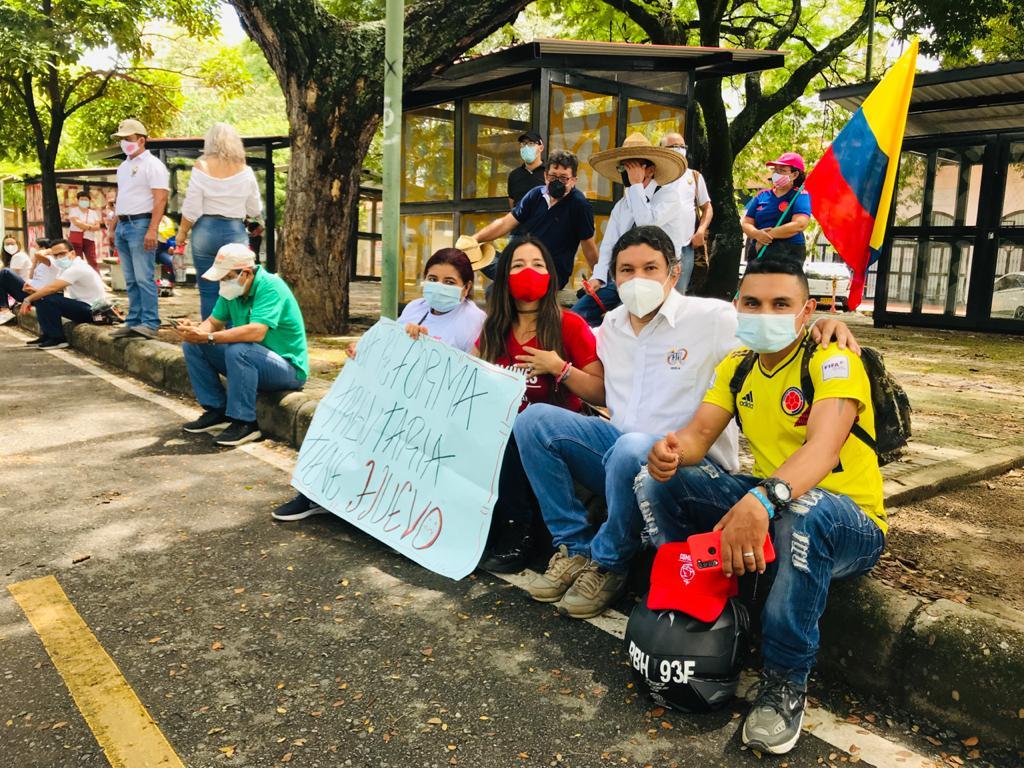 Según Manifestantes, el Gobierno Nacional hizo caso omiso a sus peticiones durante el 28A.