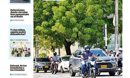 Diario del Huila 24 y 25 de abril del 2021