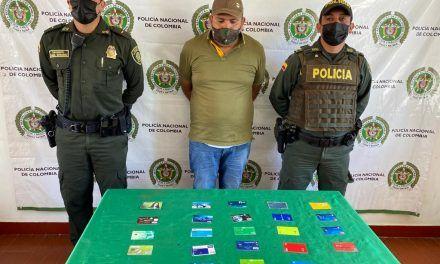 Fue capturado luego de intimidar con arma blanca a dos personas