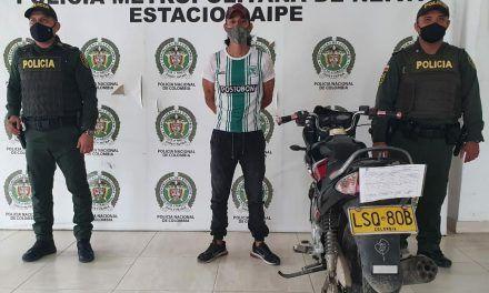 Capturan presunto delincuente y recuperan velocípedo