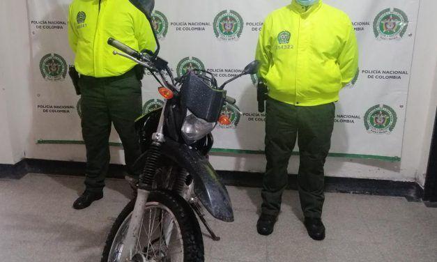 Dos motocicletas recuperaron la policía en las últimas horas en Pitalito