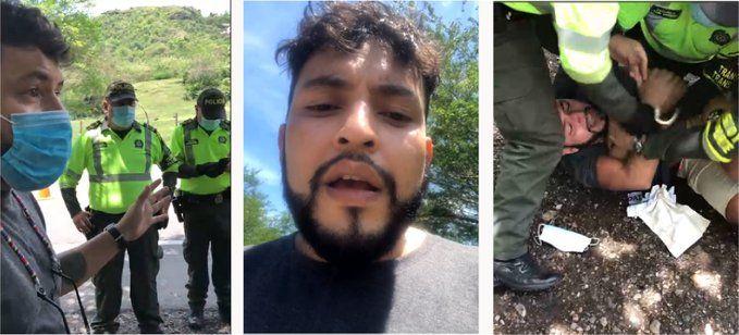 El Viacrucis de un publicista en retén de Policía y su comparendo por $42 millones