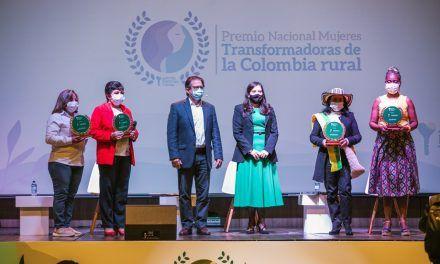 Huilense entre las ganadoras del premio Transformadoras de la Colombia Rural