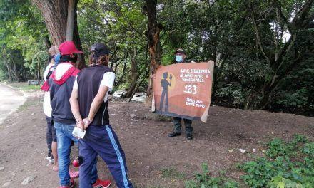 En Garzón se adelantan campañas en contra del reclutamiento forzado