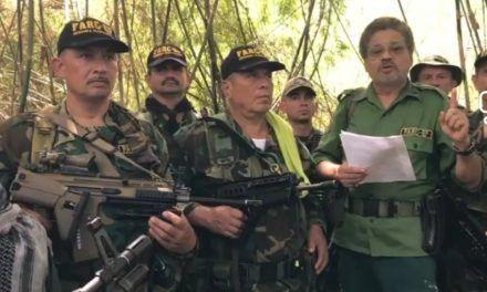 Reapareció Jhon 40 en video junto a Iván Márquez y alias El Paisa
