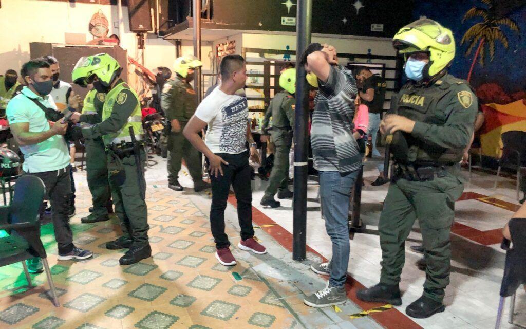 Fueron capturadas 23 personas por la policía en el Huila