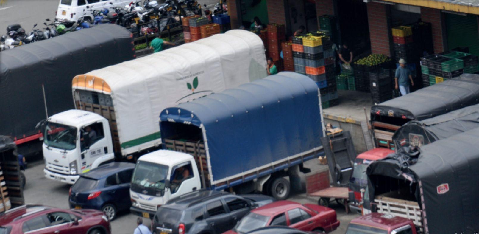 Los tributos que afectarán al transporte de carga se verían reflejados en avalancha en el incremento de precios de la canasta familiar de todos los colombianos.
