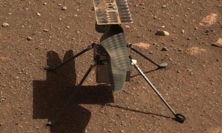 Helicóptero de la NASA hace historia al volar sobre Marte