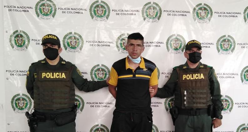 """Alias """"Tolima"""", reconocido homicida, fue capturado en Hobo"""