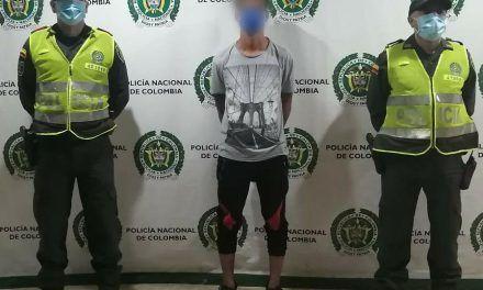 Por violencia intrafamiliar fue capturado hombre requerido por las autoridades