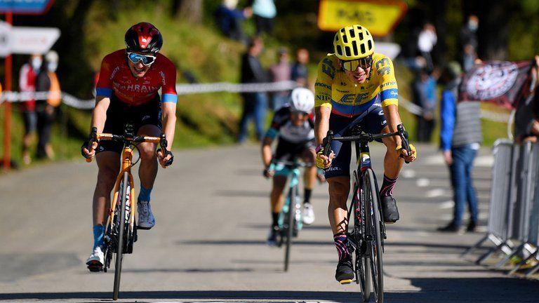 Destacada actuación de Higuita y Chaves en la tercera etapa la Vuelta al País Vasco